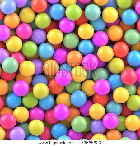 Colorful balls background. Vector illustration Eps 10