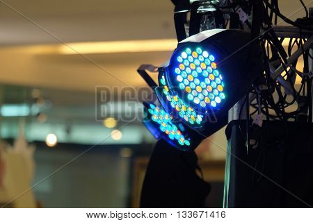 LED lighting equipment LED PAR stage professional lighting device colored