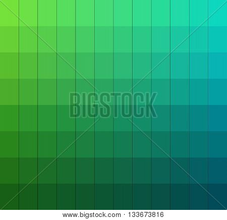 Shades of colors chart.Color box. Vector pantone illustration.