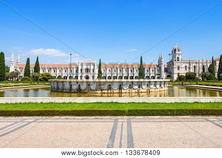 The Jeronimos Monastery