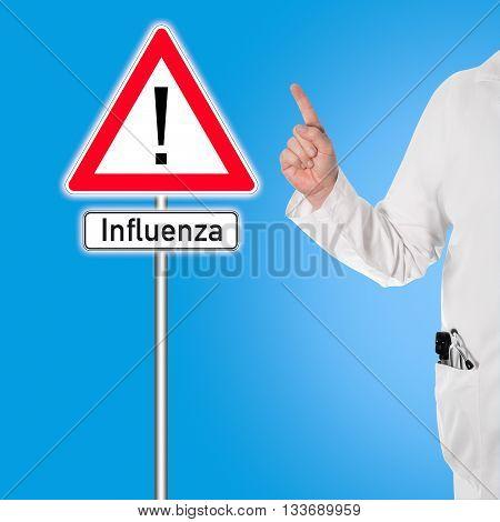 Doctor Warns Against Flu (influenza)
