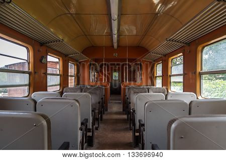 Inside Train View