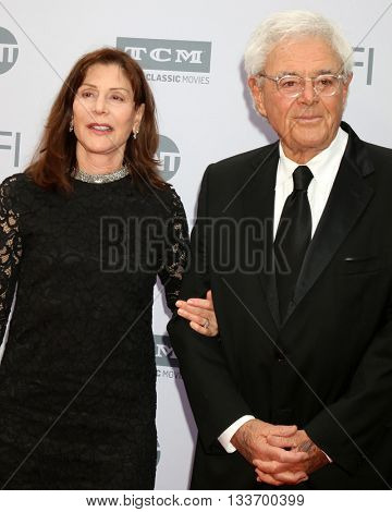 LOS ANGELES - JUN 9:  Lauren Shuler Donner, Richard Donner at the AFI 44th Life Achievement Award Gala Tribute to John Williams at the Dolby Theater on June 9, 2016 in Los Angeles, CA