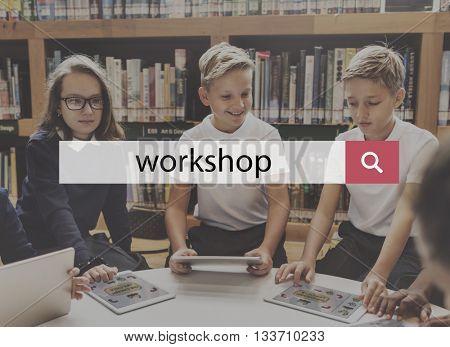 Office Workplace Workspace Workshop Building Concept
