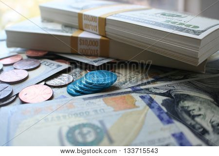 Money Blue Chip Investing Stock Photo High Quality