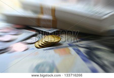 Money Close Up Stock Photo High Quality