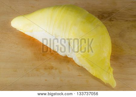 Durian On The Wood