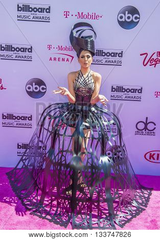 LAS VEGAS - MAY 22 : Singer Z LaLa attends the 2016 Billboard Music Awards at T-Mobile Arena on May 22 2016 in Las Vegas Nevada.