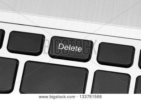 computer delete key safe mode metallic machine