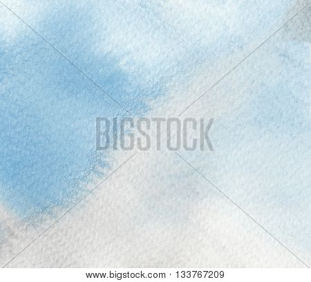 abstract blue grey wet textures watercolor background