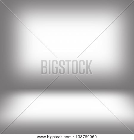 gray gradient blur abstract background used for display or montage of your products