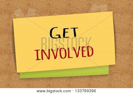 Get involved on sticky note for your design