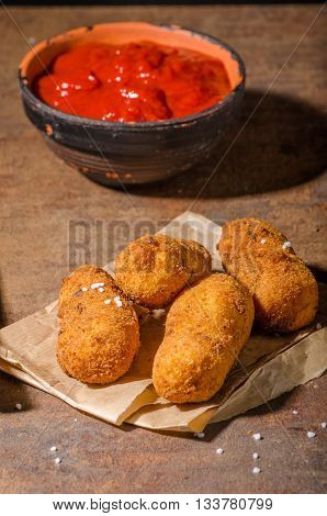 Homemade Potato Croquettes