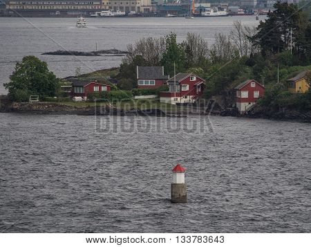 the capital ot norway and the oslo fiord