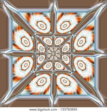 Ornament Plastic Tile