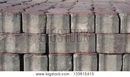 The bricks was set a lot of layer