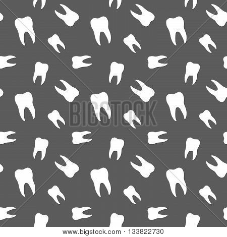 Seamless Teeth Dental And Medical Pattern Background