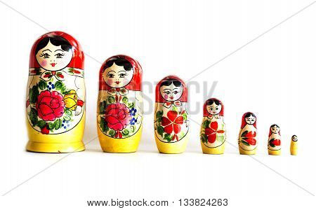 Traditional Russian Matryoshka Dolls