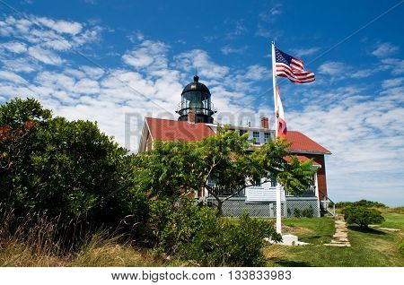Seguin Island light is Maine's most powerful lighthouse. It has the largest first order Fresnel lens.