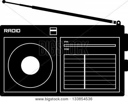 Radio Receiver Icon