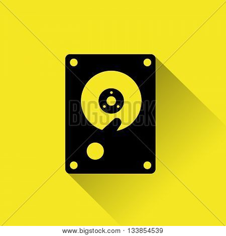 Hard Drive Disk Icon