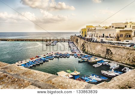 Scenic View Of Gallipoli, Salento, Italy