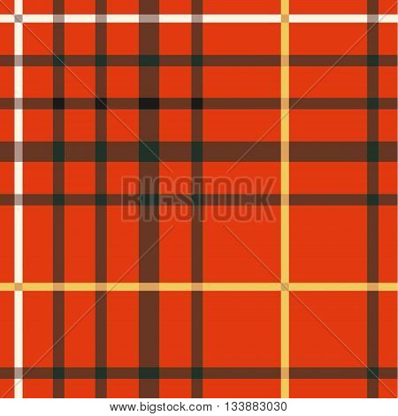 Tartan Seamless Pattern. Trendy Illustration for Wallpapers. Traditional Scottish Ornament. Tartan Plaid Inspired Background. Seamless Samples for Background, Suitable for Christmas and New Year.