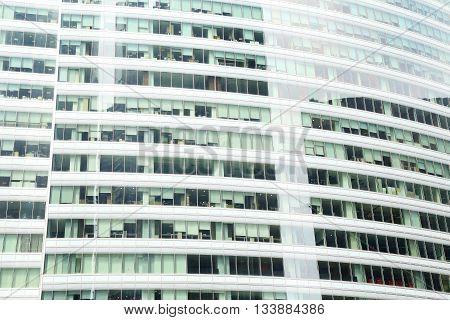 Modern office building background - high resolution
