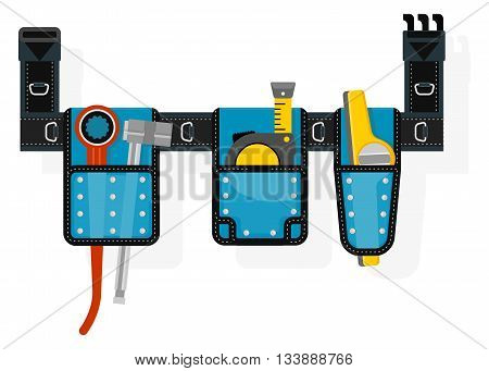 Mobile Tool Belt With Tools