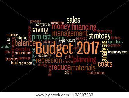 Budget 2017, Word Cloud Concept 5