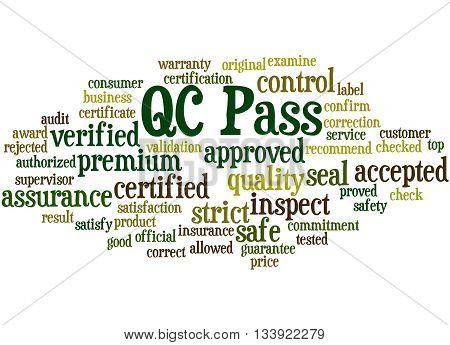 Qc Pass, Word Cloud Concept 5