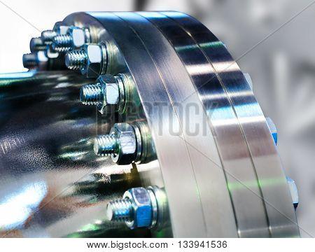 Flanged Vacuum Equipment.