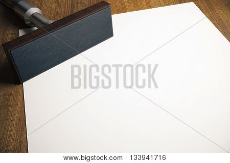 Stamper And Paper