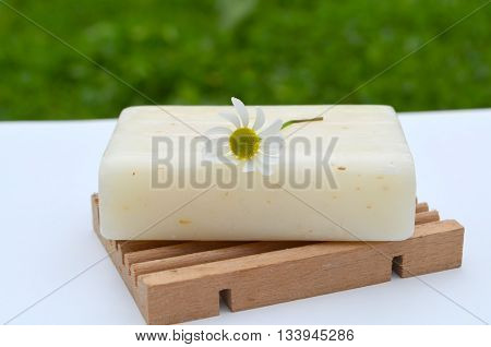 Natural soap with chamomile - Natural body care