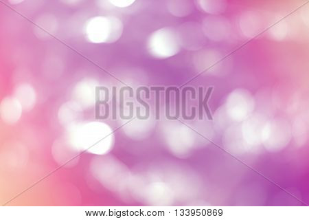 Pink color abstract blur bokeh background. Bokeh color background.