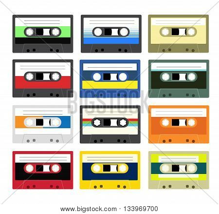 Vintage Cassette Tape Collection