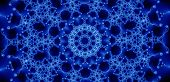 abstract pattern. background generated from a fractal design. poster