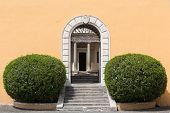 Palazzo Montorio on Janiculum Hill in Rome Italy poster