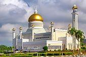 The Sultan Omar Ali Saifudding Mosque Bandar Seri Begawan Brunei Southeast Asia poster