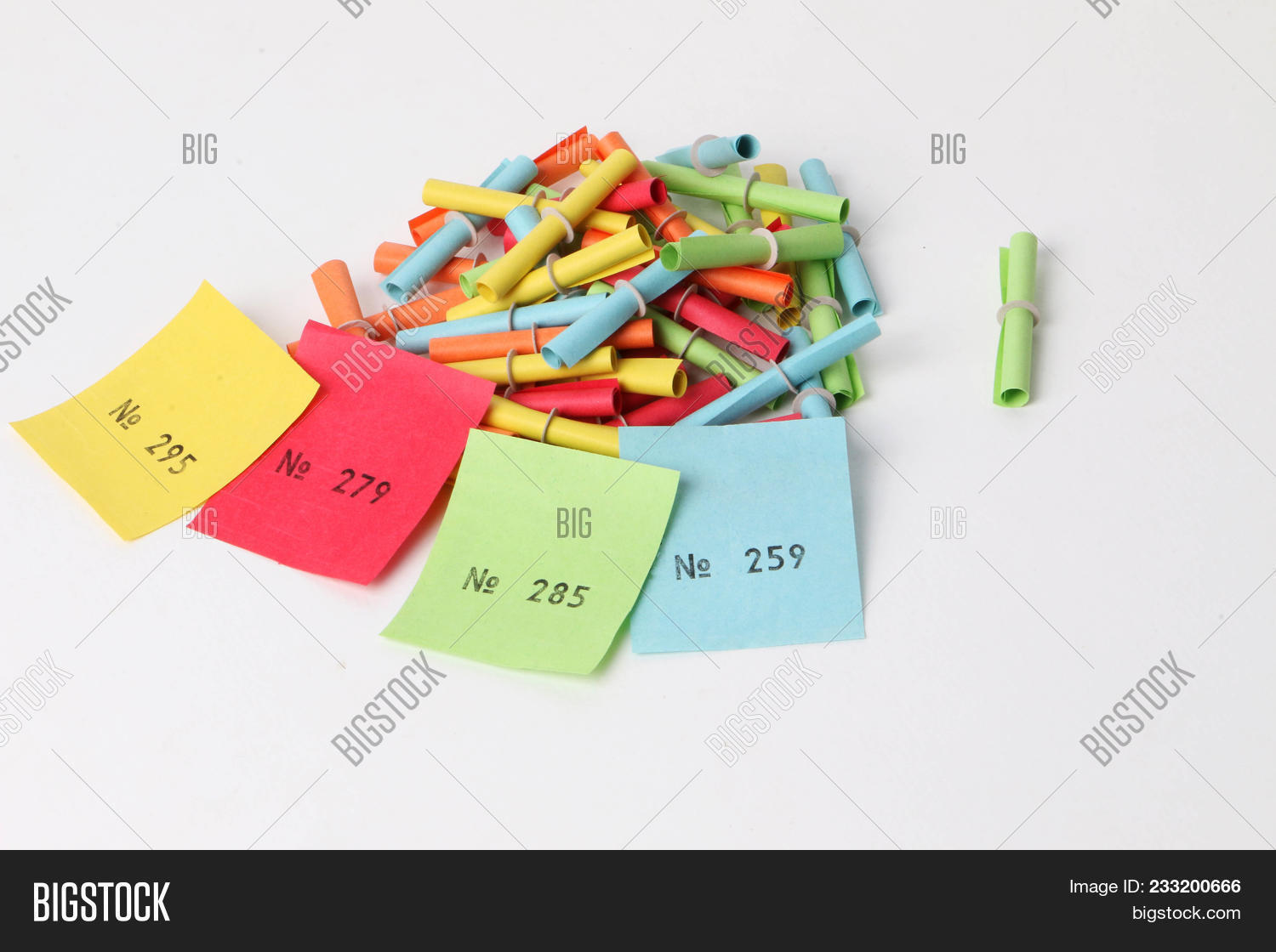 colorful tombola image photo free trial bigstock