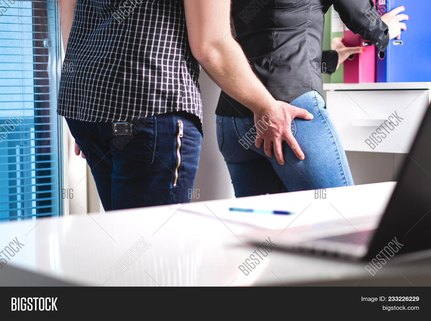 Ass Grope sexual harassment image & photo (free trial) | bigstock