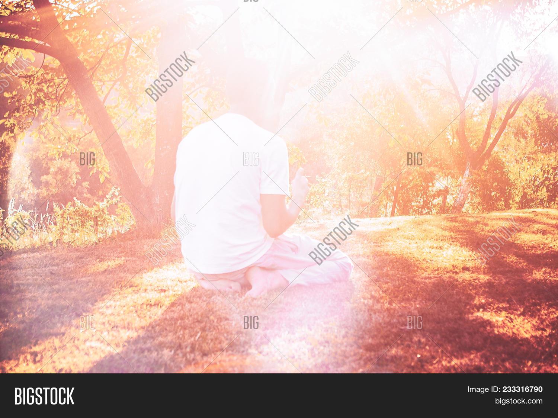 Young Muslim Man Pray Image & Photo (Free Trial) | Bigstock