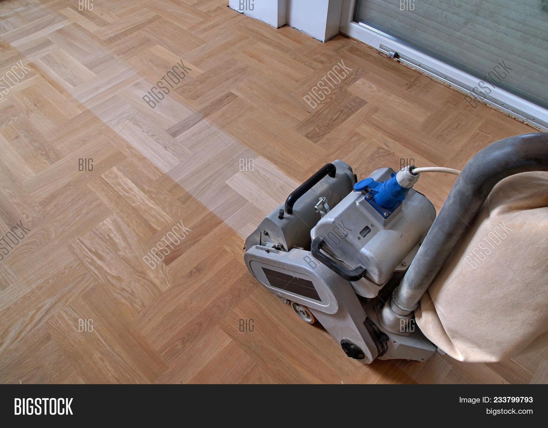 Sanding Hardwood Floor Image & Photo (Free Trial)   Bigstock