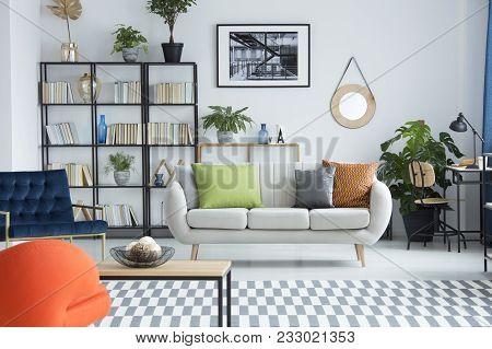 Bright Interior With Sofa