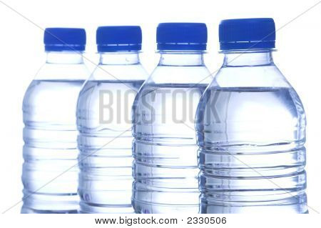Bottled Water In Line
