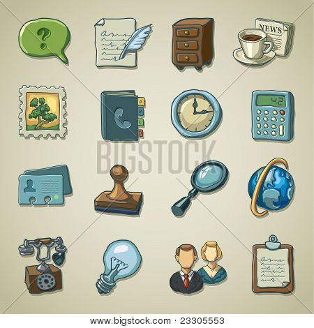 Freehands icons - office
