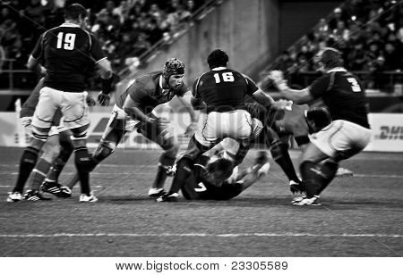 Rugby World Cup 2011 - South Africa V Wales