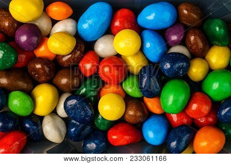 Sweet Colorful Candy. Candy Variation Color Texture .