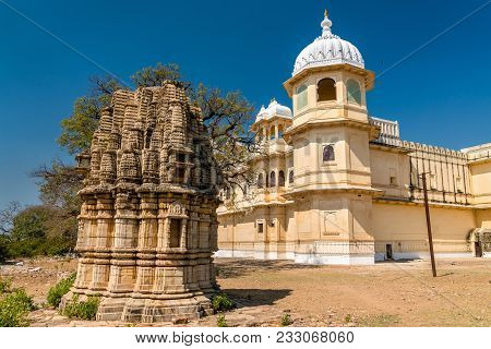 Fateh Prakash Mahal Palace At Chittorgarh Fort - Rajastan State Of India