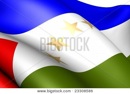 Region Autonoma Del Atlantico Sur Flag
